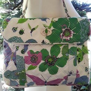 Vera Bradley spring time hand bag purse